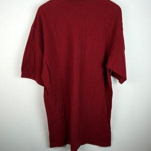 cc8b4b8c8 Nike Shirts | Vintage Polo Shirt Maroon Burgundy Black L | Poshmark
